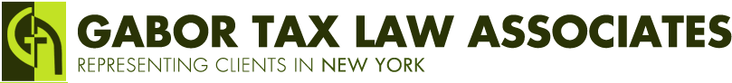 Gabor Tax Law Associates - Manhattan Tax Law Attorney